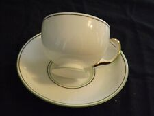 Carlton China  Art Deco Coffee Cup and Saucer Pattern No 9020