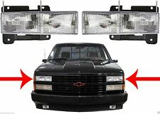 Replacement LH & RH Headlights For 1988-1998 Chevy/GMC C/K1500 New Free Shipping