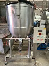 More details for used  fairfield hytec 225 litre ss mixing kettle