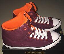 ea9084bdc7c0 Boys Girls Converse All Star CT High Shoes size 6 Y NIB Burgundy