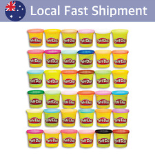 Play-Doh Bulk Mega Pack -36 x 85g Cans Tubs of Dough Creative Kids Toys Ages 2+