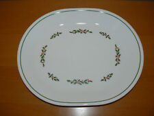 "Corelle Holly Days/Winter Holly 12 1/4"" Oval Serving Platter"