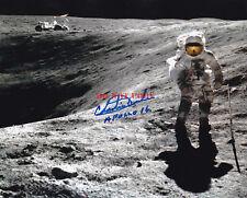 NASA Astronaut Moon Walker Charles Duke Apollo 16 Autographed 8 x 10 Color Repri