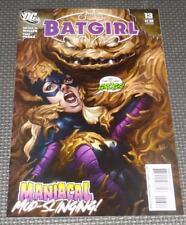 BATGIRL #13 (2010) Artgerm Lau cover Clayface High Grade Unread DC Comics
