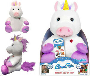Cloud Pets 12inch Interactive Talking Unicorn Squeeze Record & Play Soft Toy