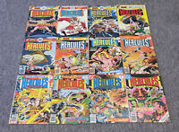 1975-1977 DC Comics HERCULES UNBOUND #1 2 3 4 5 6 7 8 9 10 11 12 ~ FULL SET