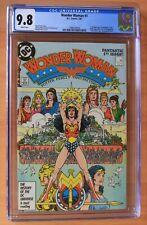 CGC 9.8 - Wonder Woman #1 (1987) + CGC 9.6 Wonder Woman #9 - 1ST new CHEETAH