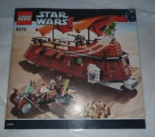 LEGO Star Wars 6210 Jabba's Sail Barge 100% complete all minifigs & instructions
