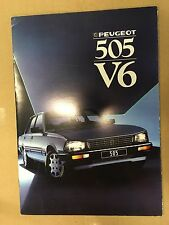 N387 PEUGEOT 505 V6