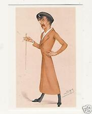 LESLIE WARD Spy SYMPHONY Whistler ARTWORK art POSTCARD Published by Pomegranate