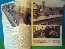 RAILWAY MODELLER JANUARY 1980 > PENHOLME & ST DAVIDS ~ GWR BRANCH LINE LAYOUT