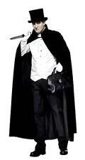 Jack The Ripper Black Cloak Cape London Dungeon Fancy Dress UK