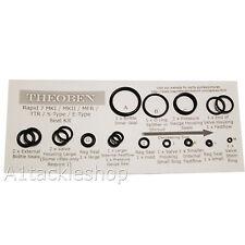 Theoben Air Rifle Seal Kit - All Models - Rapid 7 MK1/MK2/MFR/TTR/S-Type etc