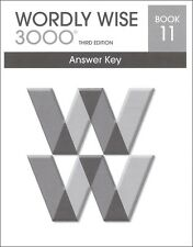 Wordly Wise 3000 Grade 11 Key **3rd Edition**