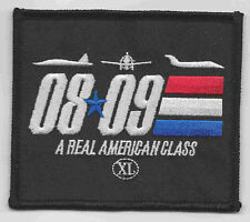 "XL PILOT TRAINING CLASS 08-09 ""A REAL AMERICAN.."" patch"