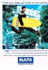 PUBLICITE  1992   MAPA   housses et tables à repasser