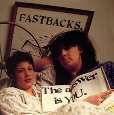 """Fastbacks - The Answer is You 7"""""""