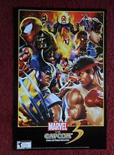 MARVEL VS CAPCOM 3 MVC3 : Fate of Two Worlds Animated Video Game Poster