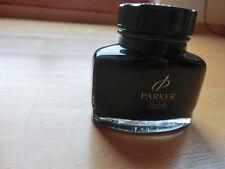 Parker Quink Tinte Fass 57ml 0112470284806 Auswaschbare  schwarze Tinte NEU