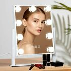 Hollywood Makeup Vanity Light Up Mirror with LED Illuminated Dimmable Bulbs UK.