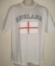 White england St George cross flag T-shirt XL, NEW, football rugby tennis sport