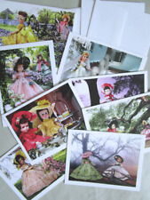 Set Of Eight Note Cards - Nancy Ann Style Show Dolls In Scenes