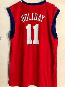 Adidas NBA Jersey Philadelphia 76ers Jrue Holiday Red sz XL