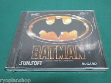 NEC PC Engine HuCARD -- BATMAN -- JAPAN GAME Seald & New!! 11179
