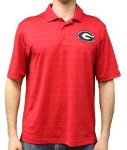 "Georgia Bulldogs NCAA Champion ""Trophy"" Men's Textured Polo Shirt"
