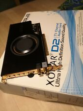 Soundkarte Asus Xonar D2 mit  Treiber CD sowie Anleitung