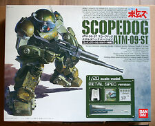 Maquette Plastique Scopedog ATM-09-ST Metal Spec Version -1/20- Bandai