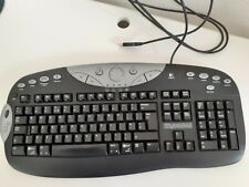 LOGITECH ELITE USB KEYBOARD WITH WRIST SUPPORT