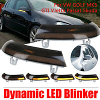 LED Dynamic Turn Signal Mirror Light Indicator For VW Jetta Golf 6 MK6