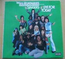 "<L1384>12"" LP: The Les Humphries Singers - Live For Today"