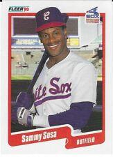 1990 Fleer Baseball - #548 - SAMMY SOSA - Chicago White Sox - ROOKIE