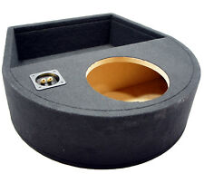 """Universal Fit Single 10"""" Subwoofer Sealed Replacement Spare Tire Custom Sub Box"""