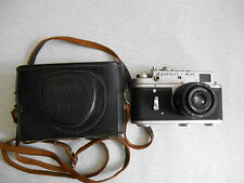 ZORKIY ZORKI 4K Leica copy Russian rangefinder camera. Lens Industar - 50