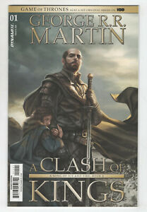 Game Of Thrones A Clash Of Kings 1 NM 1:50 Signed George RR Martin Variant