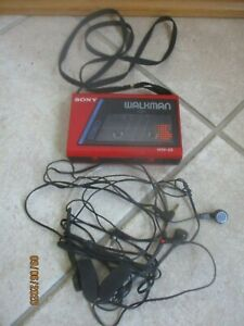 Sony Walkman WM22 rot voll funktionsfähig Kassetten