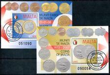 Echte gestempelte Briefmarken aus Malta