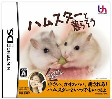 Used Nintendo DS Hamster to Kurasou Japan Import (Free Shipping)