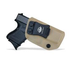 Kydex IWB Pistol Holster Glock 26 / Glock 27 / Glock 33 Gun Case Concealed Carry