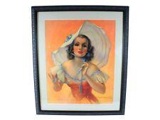 Vintage Bradshaw Crandell Art My Lady Fair