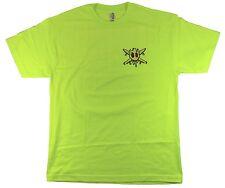 Fourstar Acid Sample Men's Safety Yellow Large Tshirt SRP £24.99