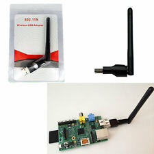 150M USB WiFi Wireless Adapter LAN w/ Antenna Raspberry Pi 2 B+ ralink rt5370