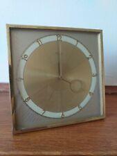 Antiguo 1930s Art Deco caballete Mantel Clock hecha por Kienzle Excelente Estado.