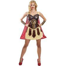 Adult Ladies Warrior Princess Greek Wonder Woman Heroine Fancy Dress Costume