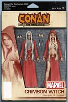 CONAN THE BARBARIAN #3  CHRISTOPHER ACTION FIGURE VARIANT