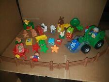 lego duplo zoo safari farm animals tractor set 303
