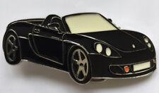 Buckle Gürtelschnalle Sportwagen Cabriolet einzigartig Racer Farbe schwarz